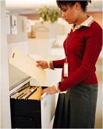 El orden en el trabajo del abogado el archivo de los for Busco trabajo en oficina